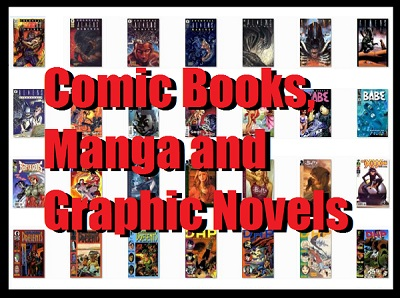 Comic Books Manga and Graphic Novels