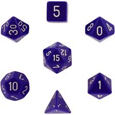 Dice Sets and RPG Accessories