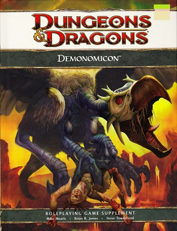 DnD 4th ed Supplement - Demonomicon - Dungeons and Dragons