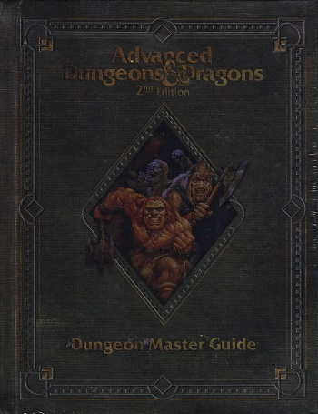 DnD 2nd ed Core Rules - Dungeon Master Guide