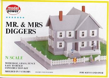 MDP 1558 - N Mr & Mrs Diggers - Model Power N Buildings