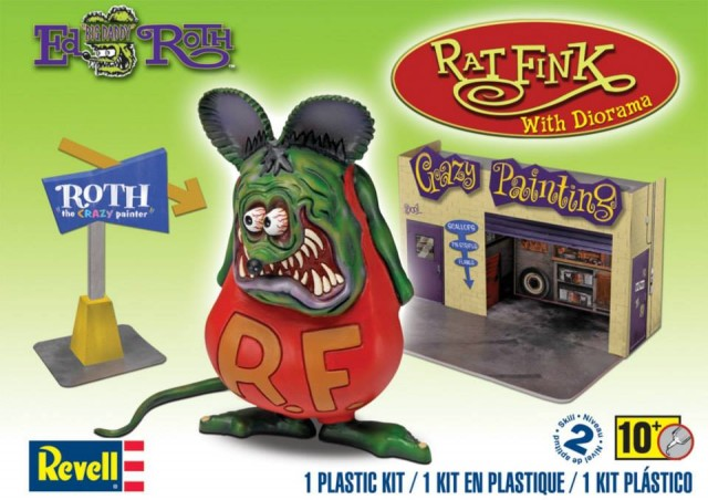 Revell 85-6732 - Rat Fink with Diorama