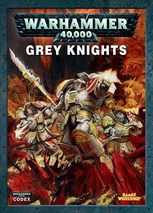 NEW AND SEALED WARHAMMER 40K GREY KNIGHTS CODEX 8TH EDITION