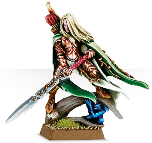 Wood Elves Highborn With Great Weapon
