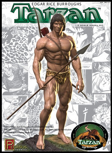 PEGASUS 9013 - Tarzan Plastic Model Kit